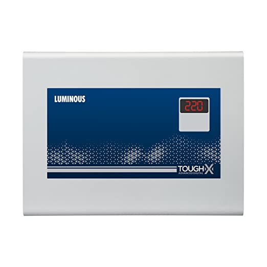Luminous ToughX TA130D 150-Watt Voltage Stabilizer (Grey)