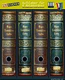 File adesivi - Design etichette - immagine Meyer lessico - per 4 raccoglitori larghi