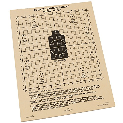 Rite in the Rain All-Weather 25 Meter Zeroing Target - 100 Sheets (Target Rain compare prices)