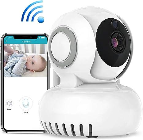 Bebé Monitor Vigilabebés,WiFi Cámara IP, Intercomunicador ...