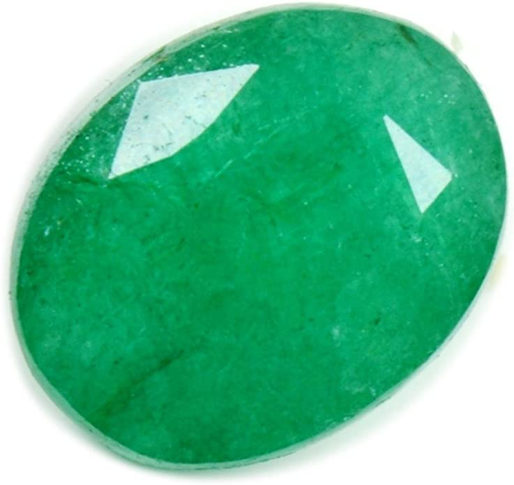 6x4 MM 6 Pieces Natural Emerald Faceted Oval Emerald GemstoneUntreatedBrazilian EmeraldExcellent QualityCertifiedEmerald Oval Gemstone