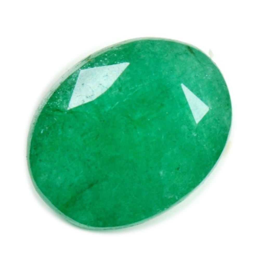 Natural Emerald Loose Gemstone 3 Carat Oval Shape Chakra Healing May Birthstone Wholesale Price Bead AAA+