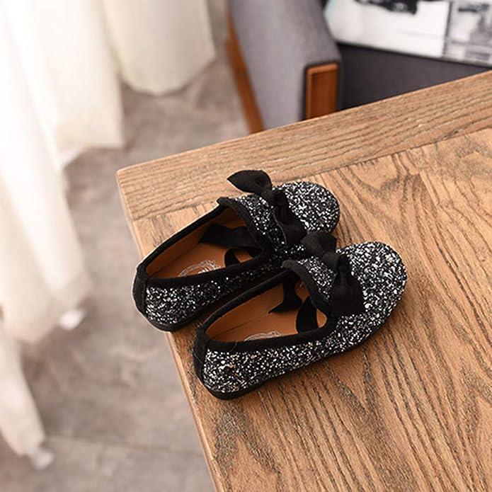 36a1e83092a68 Xmiral Chaussure Enfant Fille Bowknot Crystal Bling fête Princesse Soulier  Danse  Amazon.fr  Chaussures et Sacs