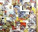 <Qキャラクター・キルティング生地>トムとジェリー(カラー)#5(キルティング キルト キャラクター キルティング生地 布 入園 入学 ピロル)