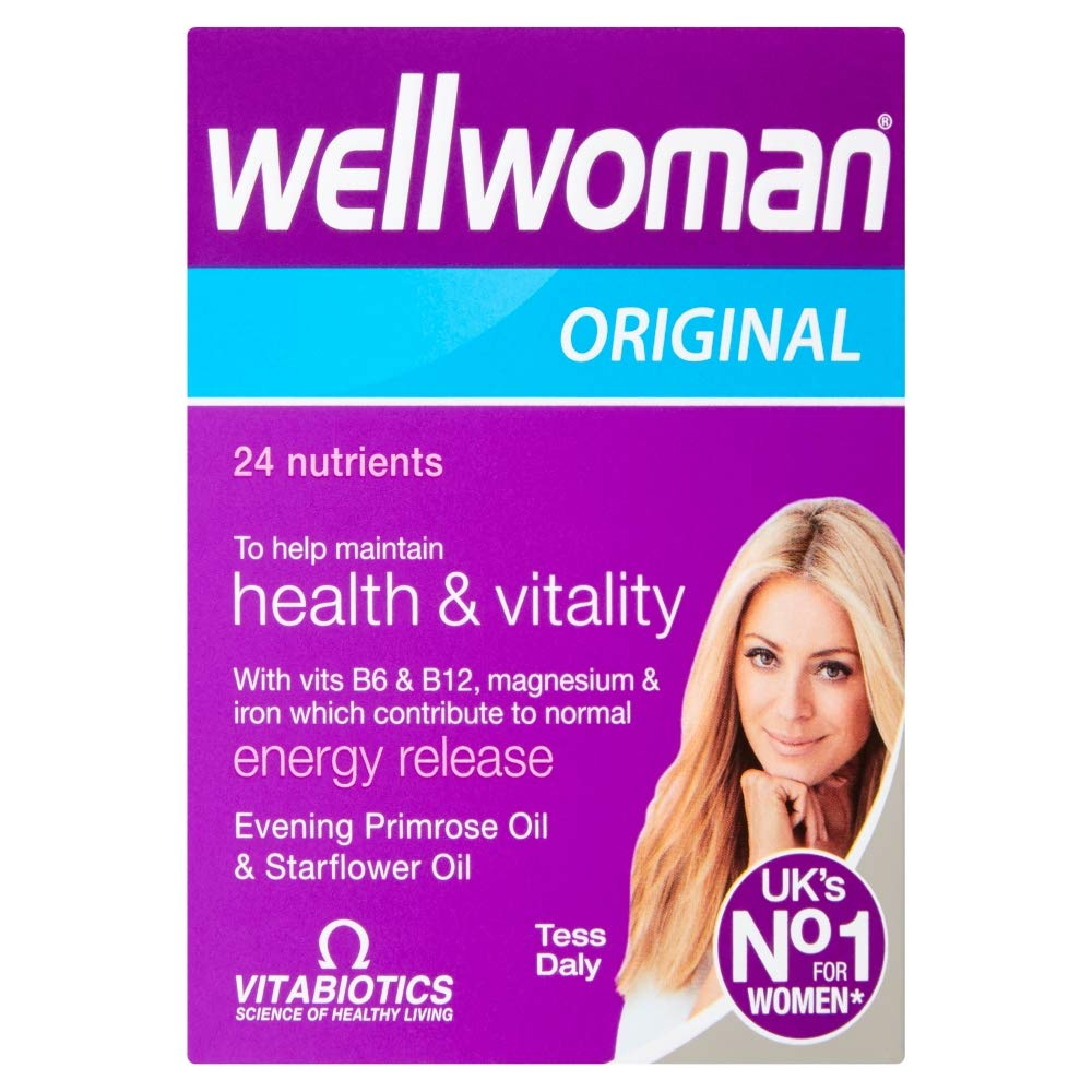 Wellwoman Advanced Vitamin & Mineral Formula With Evening Primrose & Starflower Oils 30 Capsules