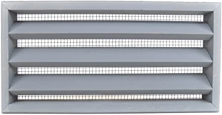 Pack of 2-16 x 8 Cedar wood foundation vent for crawel space ventilation