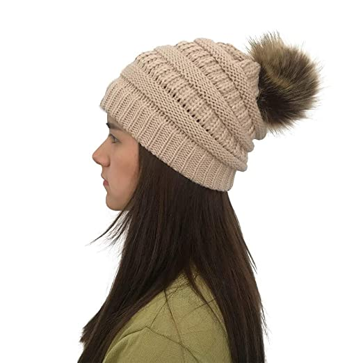 ffbe144ba78 Jushye Women Knit Hat