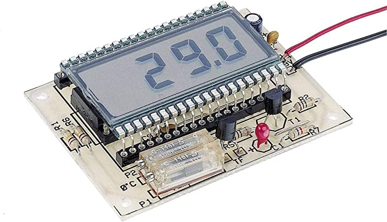 Conrad Components 115452 Lcd Thermometer Bausatz 9 V Dc 12 V Dc 50 Bis 150 C Spielzeug