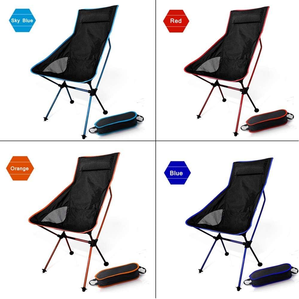 Chaise pliante FANGQIAO Shop Ultra léger de pêche Siège Camping en Plein air Loisirs de Pique-Nique Chaise Plage Autres Outils de pêche 8.4 SF73300OG