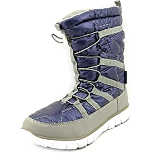 Khombu Women's Alta Cold Weather Boot, BLUE, 5
