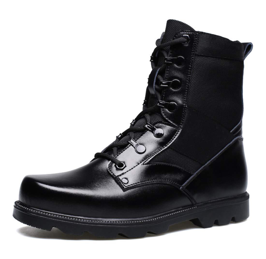 DANDANJIE Herren Kampfstiefel Herbst Winterstiefel Britischen Stil Stil Stil Stiefel Schwarz Wanderschuhe Stiefelies e593df