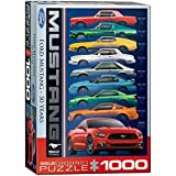 EuroGraphics Ford Mustang 9 Model Jigsaw Puzzle...