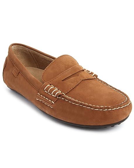 Polo Ralph Lauren WES Mocasines, Color marrón, Talla 42.5: Amazon.es: Zapatos y complementos