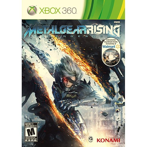 Metal Gear Rising: Revengeance Video Game With Walmart Exclusive Instrumental Soundtrack (Xbox 360)