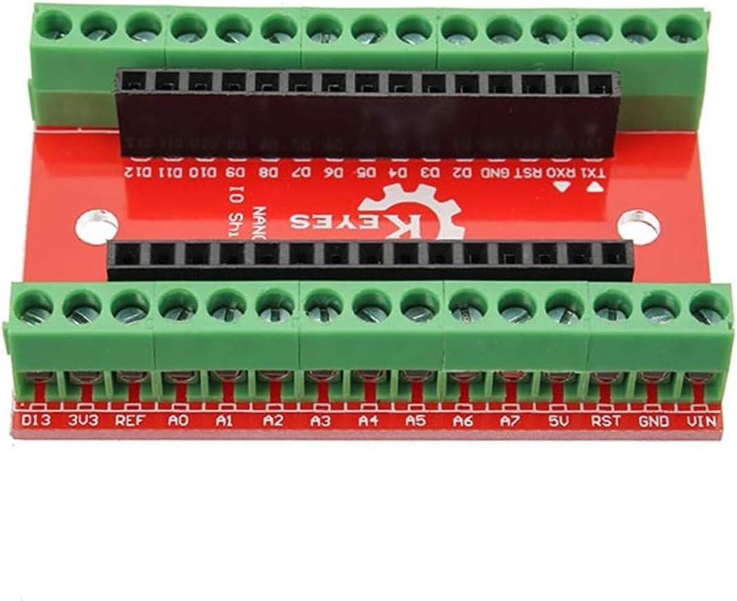 HDHUA Modification Accessories 10pcs Nano IO Shield Expansion Board for Arduino