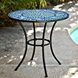 Cheap Coral Coast Coral Coast Marina Mosaic Bistro Table, Mosaic, 30W x 30D x 28H in.