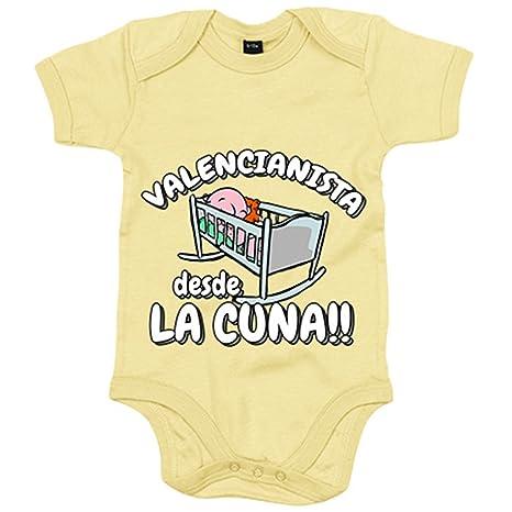 Body bebé Valencianista desde la cuna Valencia fútbol ...