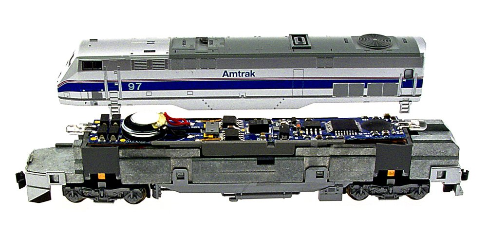 MRC N Gauge Dual Mode Drop-In Decoder: Kato P42, E8 and E9