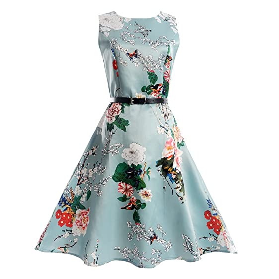 ETOSELL 1950s Vintage Dresses For Women, Summer Cocktail Party Dresses