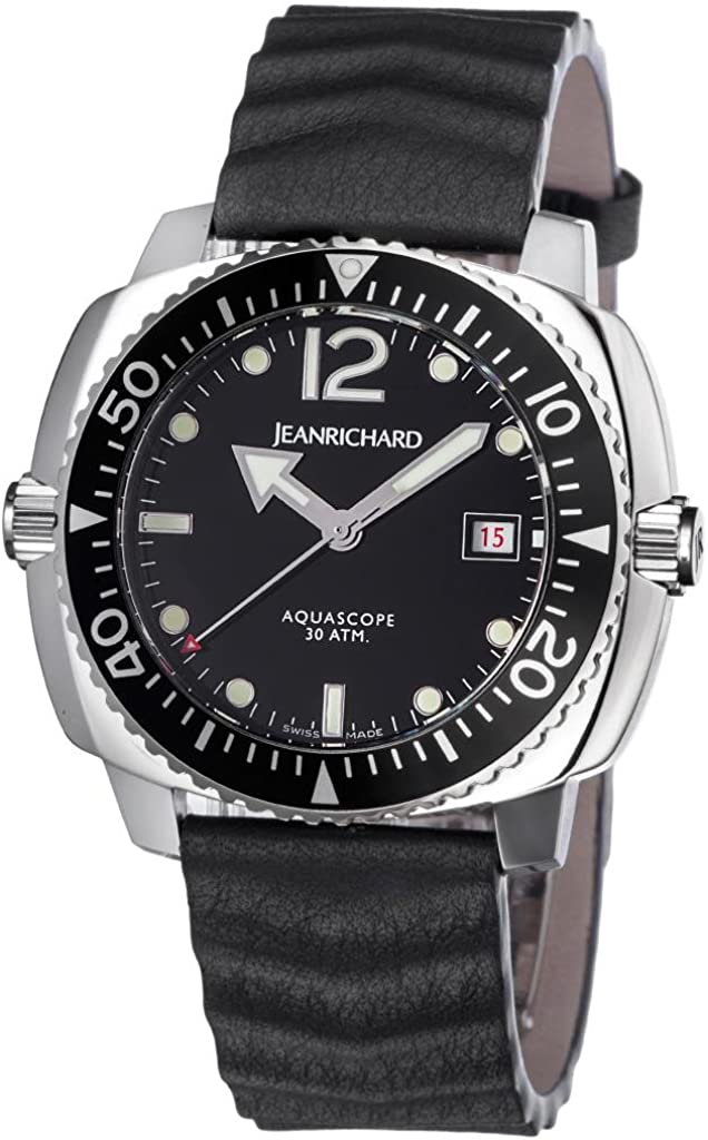 JeanRichard Aquascope Diving Mens watch 60140-11-61a-ae6d