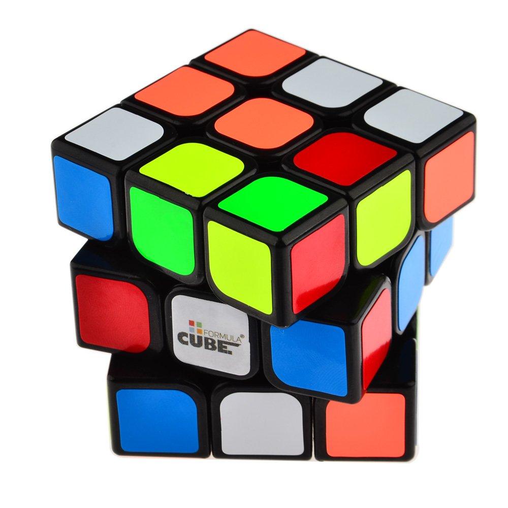 Amazon Magic Cube Formula 3x3x3 Three Layer 56mm Black Toys Games