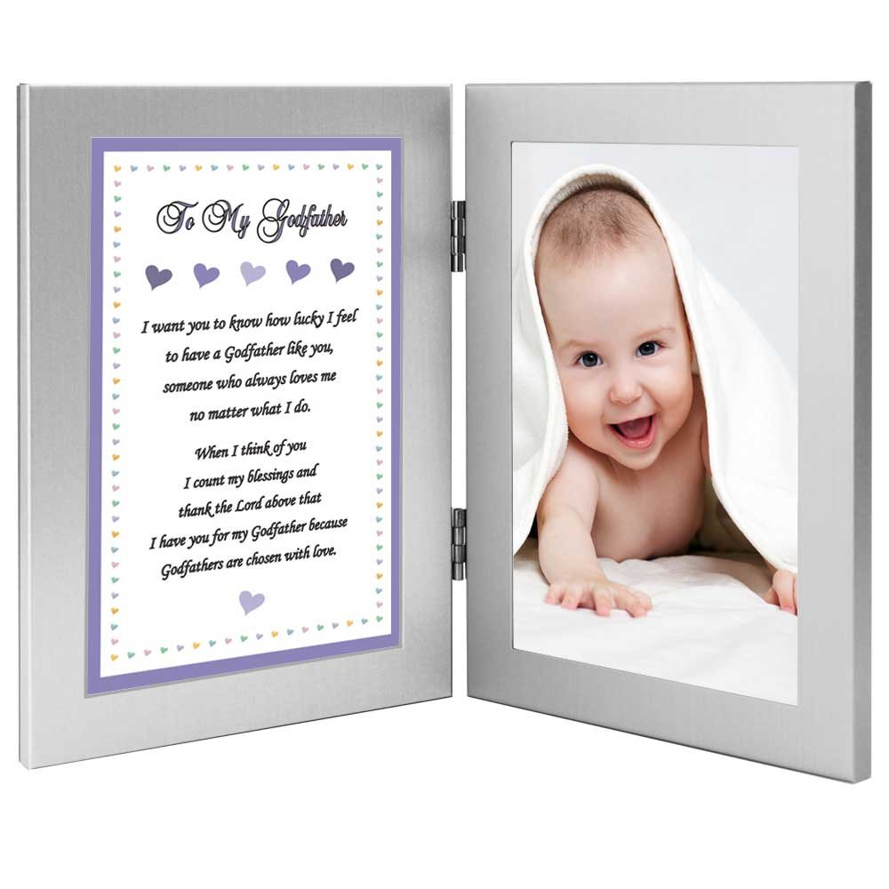 Amazon gift for godfather from godson sweet poem in amazon gift for godfather from godson sweet poem in attached double frames baptism birthday christmas add photo baby jeuxipadfo Choice Image