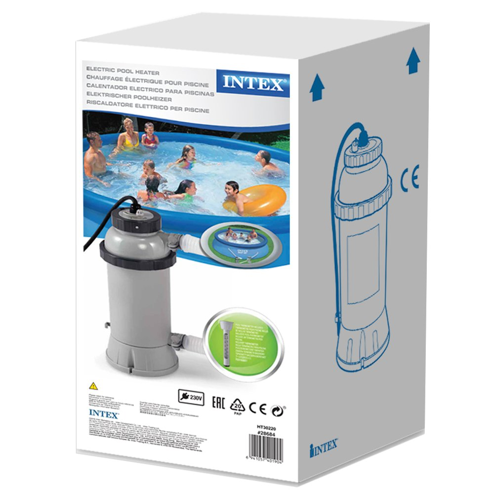 Intex - Calentador eléctrico Intex para piscinas de hasta 457 cm - 28684: Amazon.es: Jardín