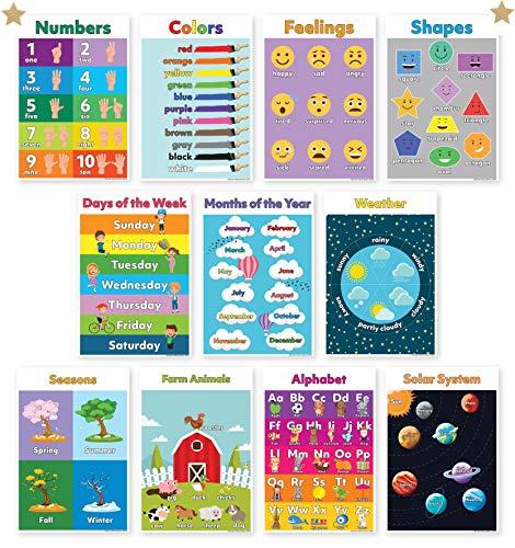 preschool wall chart - 7