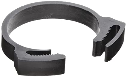 12 Clamps 1.999 x 2.277 Acetal Plastic Snap Grip Hose and Tube Clamps