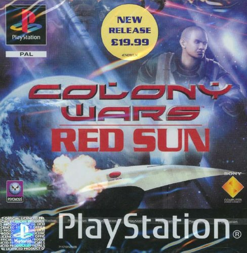 PS1 PAL Colony Wars Red Sun