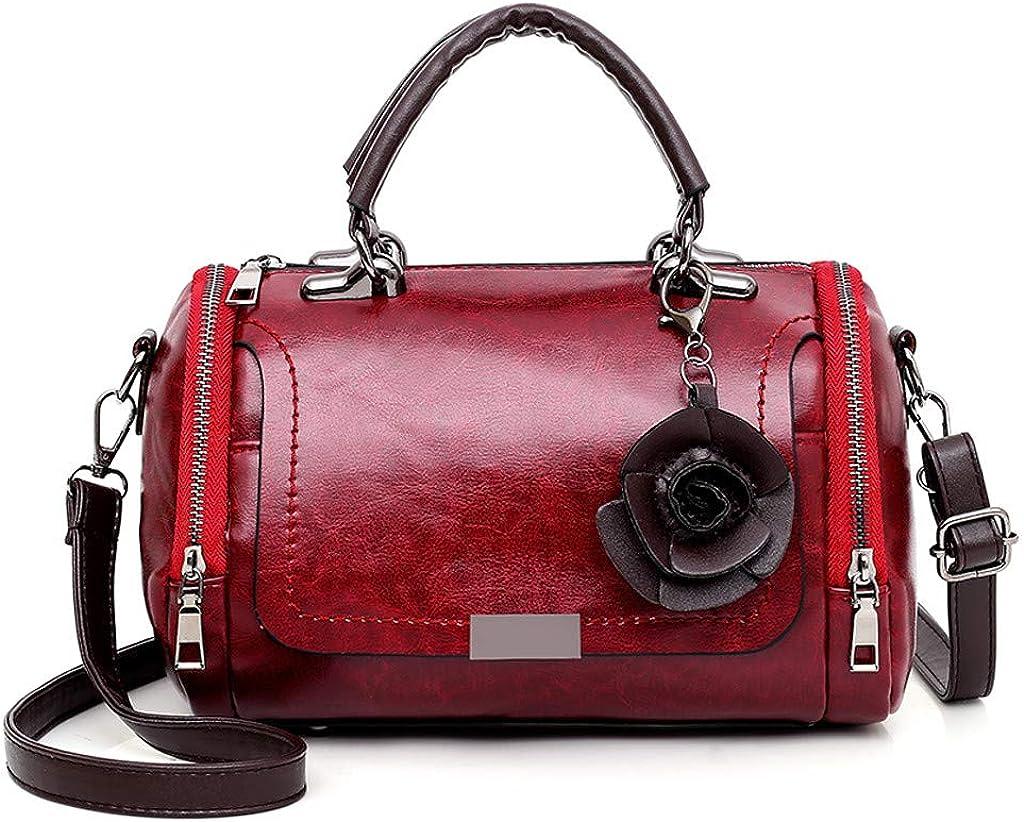 Ki-8Jcu Women Leather Handbag+Lady Crossbody Shoulder Bags+Ladies Card Holder Bag Messenger Tote Purse Fashion Totes 3Pc
