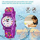 Toddler Kids Children Watch,3D Cute Cartoon