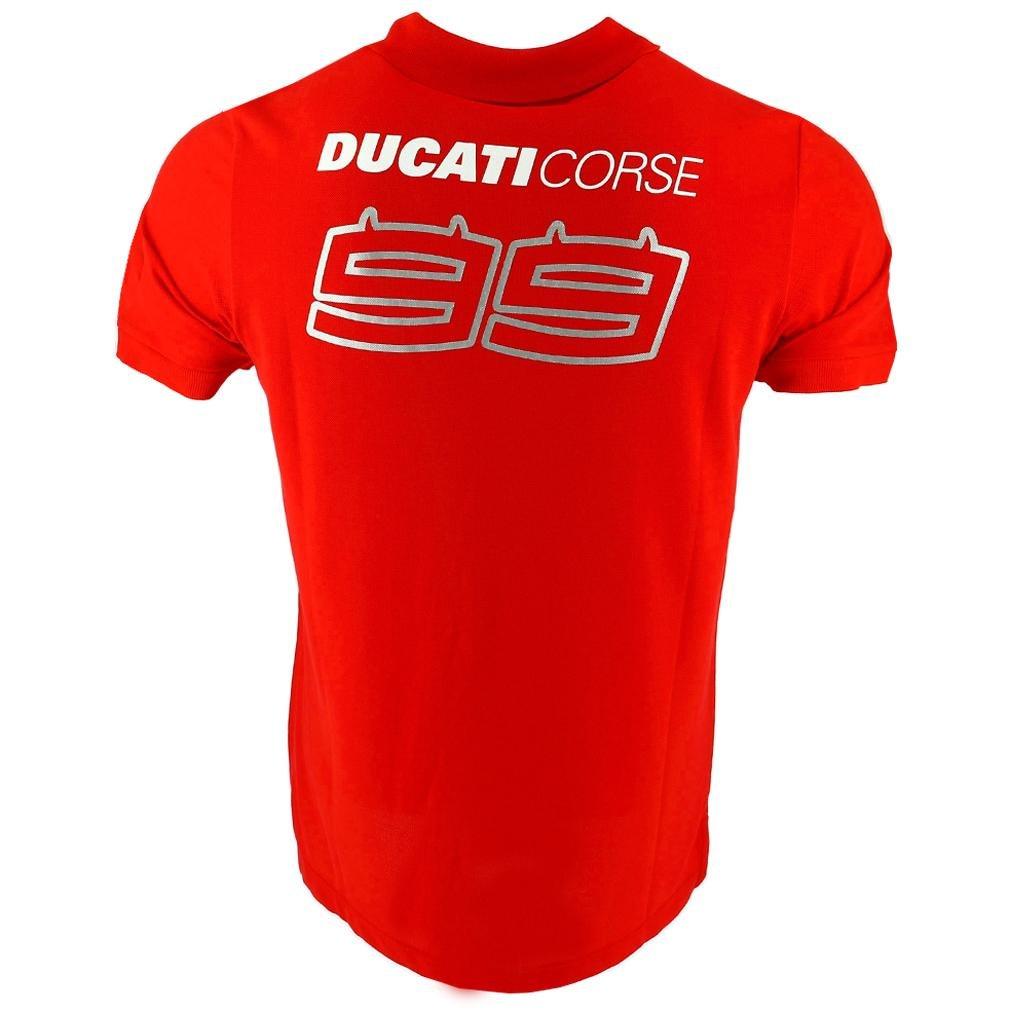 Ducati Corse Team 2018 Jorge Lorenzo 99 MotoGP - Polo para Hombre ...