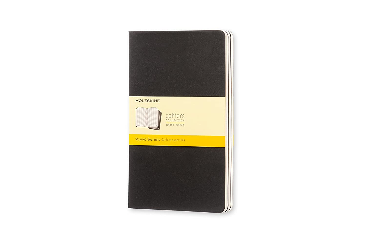 Moleskine Cahier Large Notebook - Black