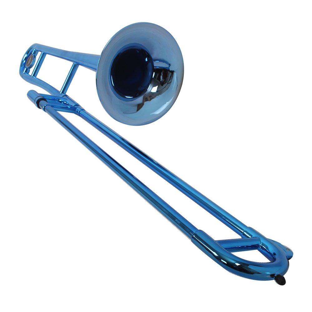Tromba TRB-MB Plastic Trombones-metallic Blue, Bb Tenor
