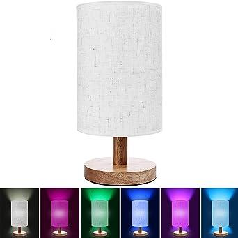 Lámpara inteligente con control de voz y luces LED de varios ...