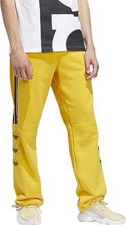 316622f0328 Adidas Woven 3 Stripes Pant Raw Amber White  Amazon.fr  Sports et ...