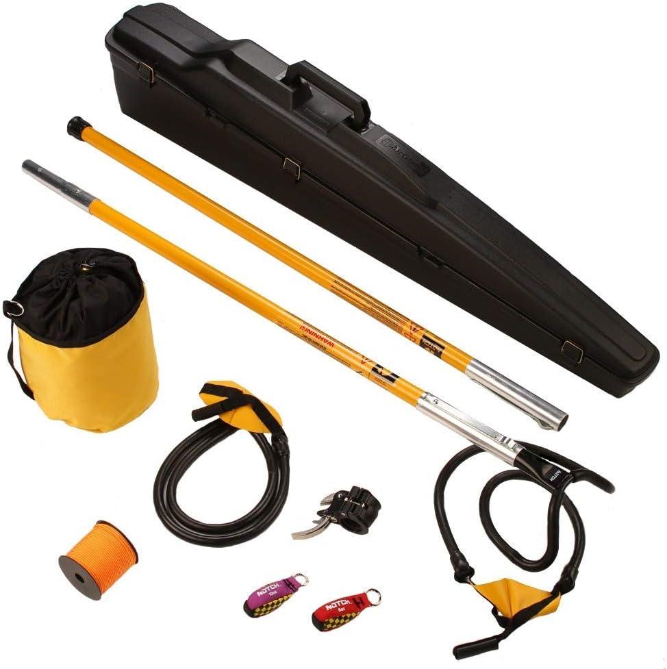 Jameson Throw Line Launcher Kit Two 4/' Poles and Big Shot Head