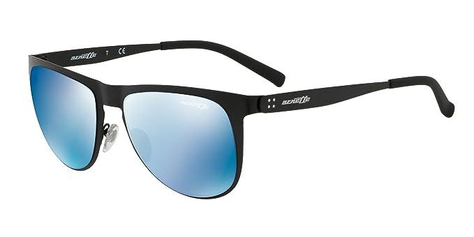 Arnette Gafas de Sol JONESER AN 3077 MATTE BLACK/BLUE hombre ...