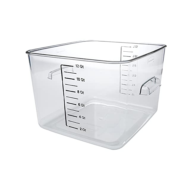 Rubbermaid Commercial Space Saving Food Storag...