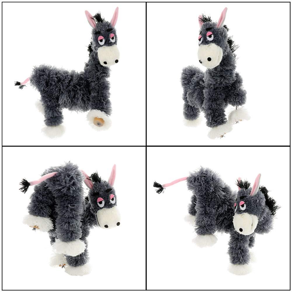 Marionette Spielzeug f/ü r Eltern und Kinder JYCRA Puppet Kleiner Esel handgefertigt verr/ü ckter Esel interaktives Lernspielzeug f/ü r Kinder