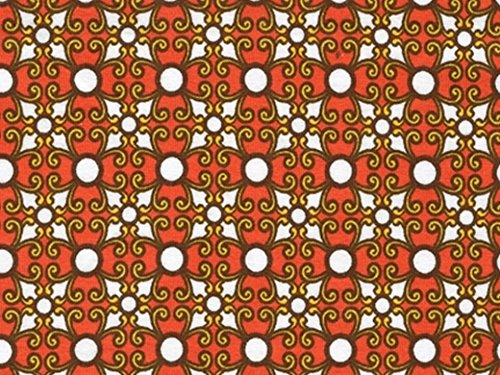 Robert Kaufman Laguna Stretch Jersey Knit Dress Fabric Tangerine - per metre