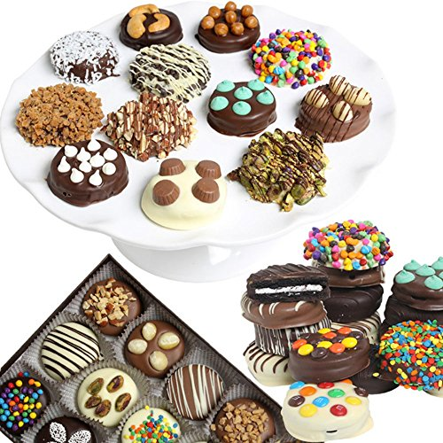 Ultimate Belgian Chocolate Covered Oreo Cookies - 12 Piece