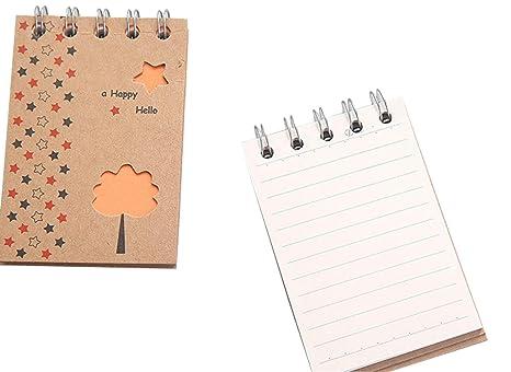 Amazon.com: Mini tarjetas de índice, tarjetas de notas con ...