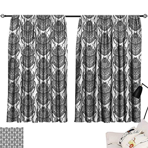 Anyangeight Backdrop Curtain Egyptian,Mythological Scarabs 63