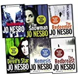 img - for Jo Nesbo 6 Books Collection Set Pack RRP 47.94 (Headhunters, The Redeemer, The Snowman, Nemesis, The Devils Star, The Redbreast) book / textbook / text book