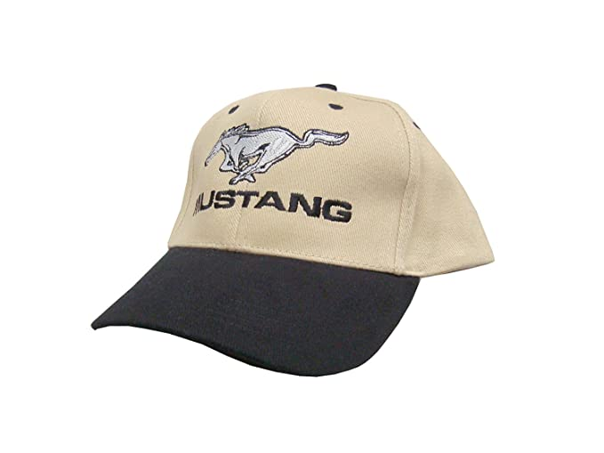 Ford Mustang Hat Black Khaki Gt Gt Gt Cobra Boss   Shelby