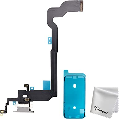 White Screwdriver Charging Port Flex incl MMOBIEL Dock Connector Replacement Compatible with iPhone XR 6.1 inch
