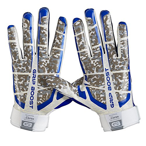 Grip Boost Stealth Super Sticky Football Gloves Pro Elite Youth