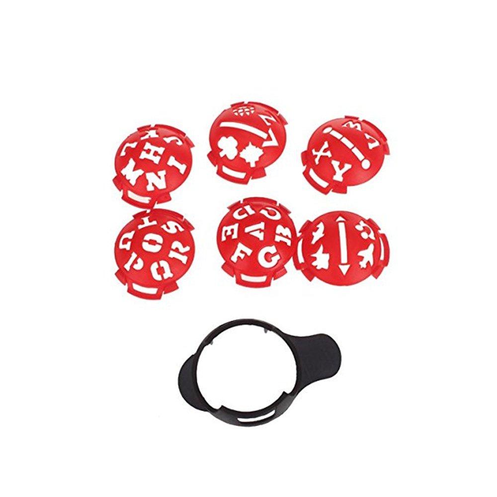 Aszune Golf Ball Marker Template Golf Ball Line Liner Marker
